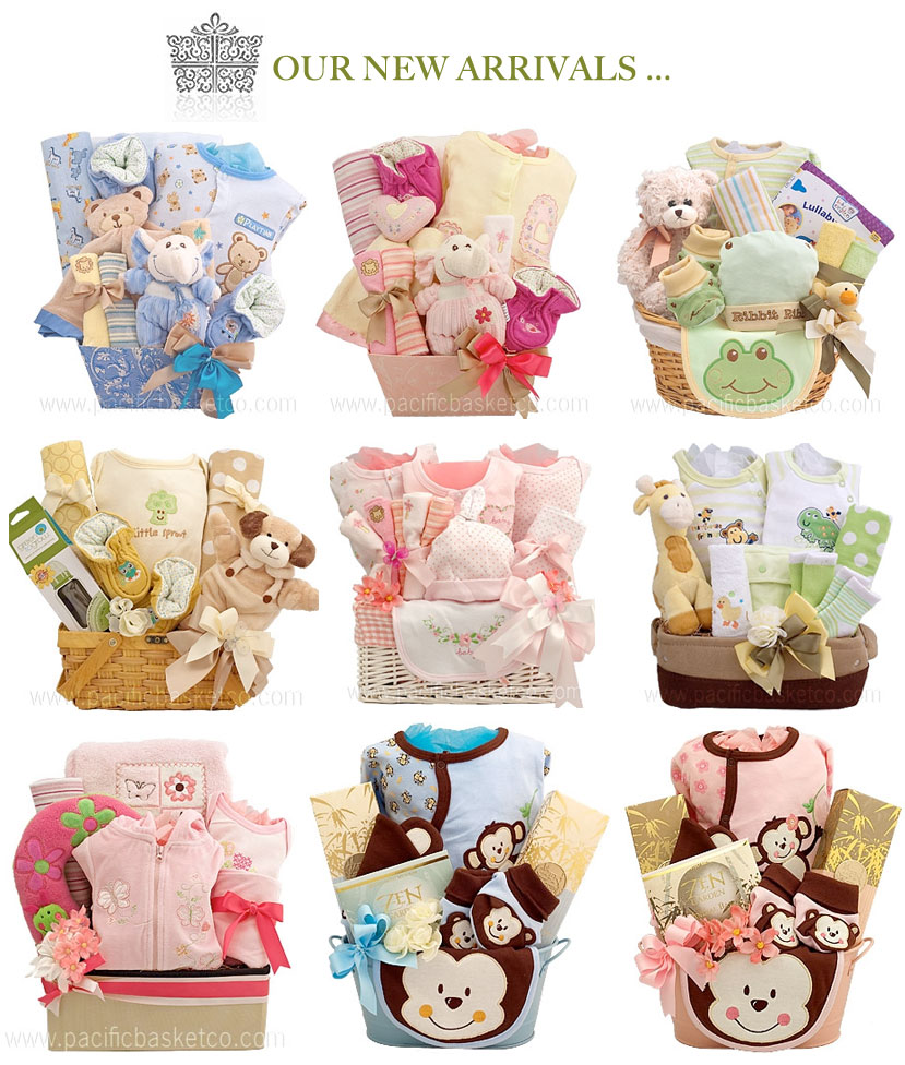 New baby arrivals by Pacific Basket Company