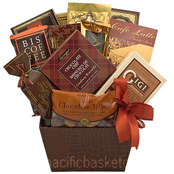 Gifts and gift baskets canada by pacific basket company vancouver coffee gift basket by pacific basket co negle Choice Image