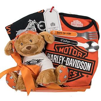 Harley Davidson Baby Gift Baskets Vancouver Canada