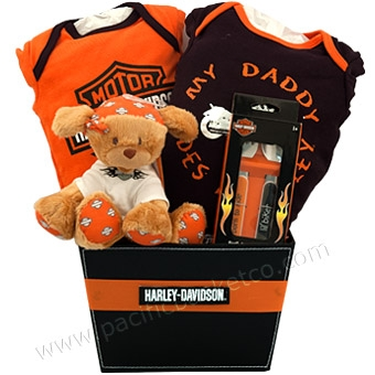 Harley davidson baby gift baskets vancouver canada wildside negle Image collections