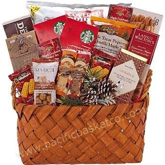 Holiday seasonal sweets gift basket vancouver christmas gifts negle Image collections