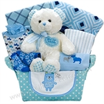 SNUGGLE BEAR (BLUE)