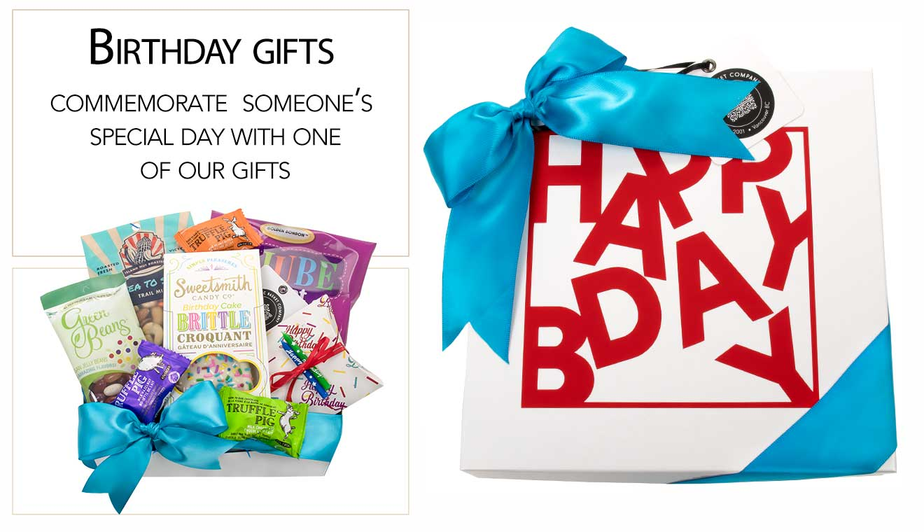Birthday Gift Basket Canada