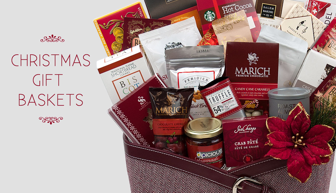 Christmas gift baskets Canada :: Holiday gift baskets ...