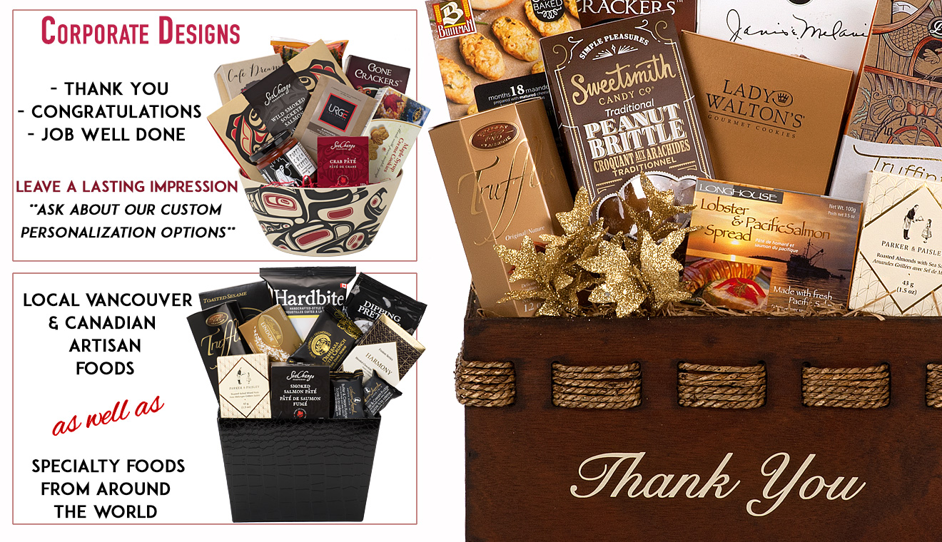 Gift baskets canada gift baskets vancouver corporate gift corporate gifts and baskets negle Image collections