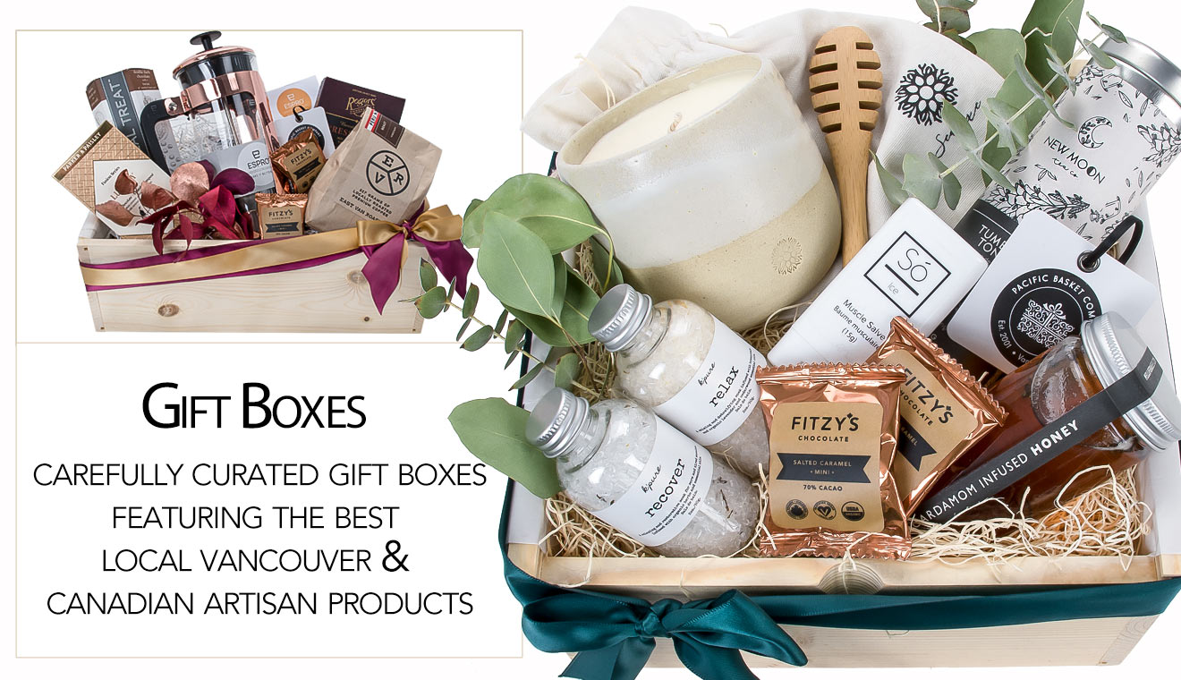 Vancouver Gift Boxes Curated Gift Box Artisan Gift Boxes Canada