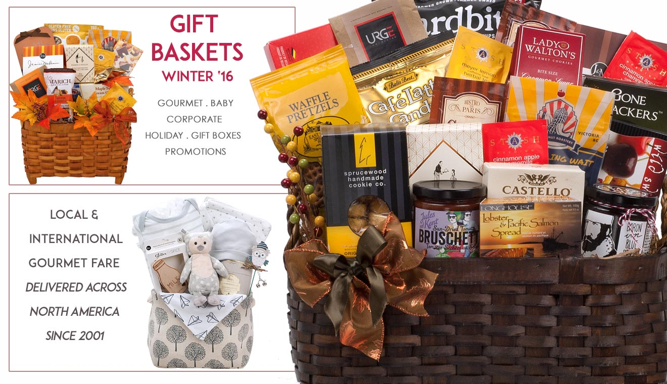 Thank You Gift Baskets Vancouver Bc Customized Gift Baskets By Pacific Basket Pany Custom