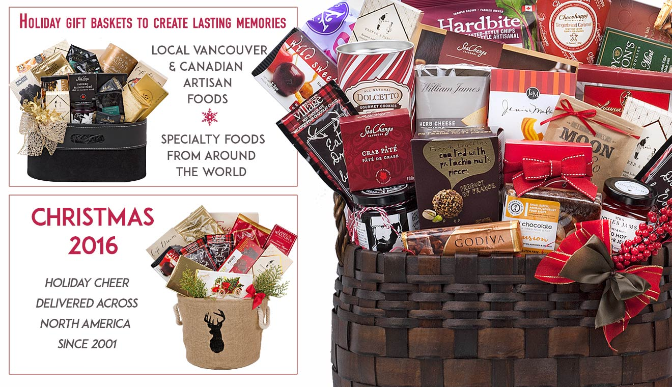 Baby Gift Baskets Vancouver Canada : Christmas gift baskets canada holiday