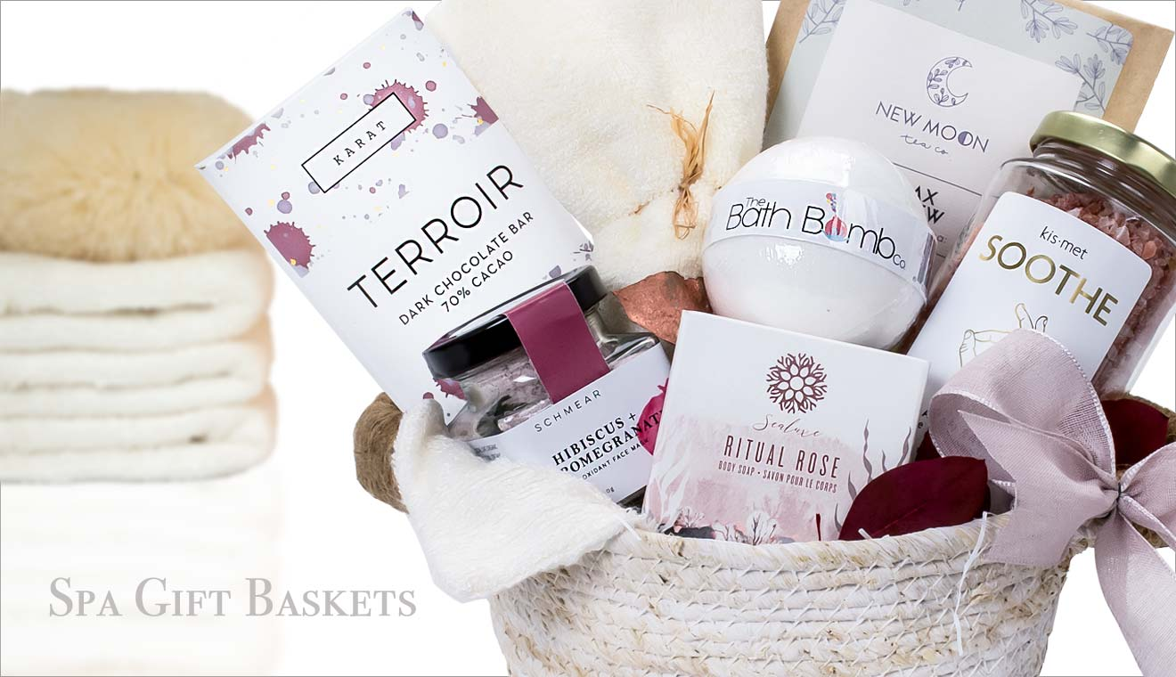 Spa Gift Baskets Vancouver Canada